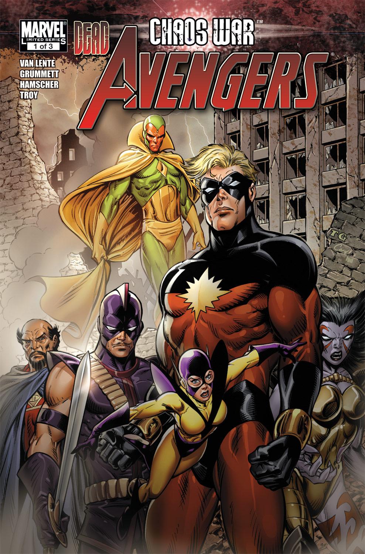 Chaos War: Dead Avengers (2010) #1