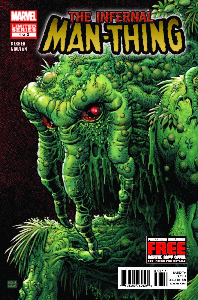 Infernal Man-Thing (2010) #1
