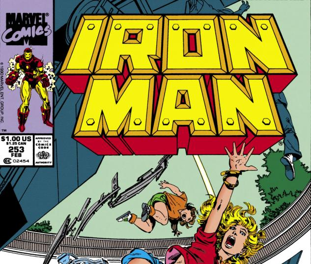 Iron Man (1968) #253 Cover