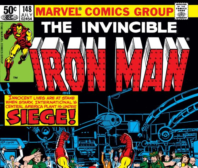 Iron Man (1968) #148 Cover
