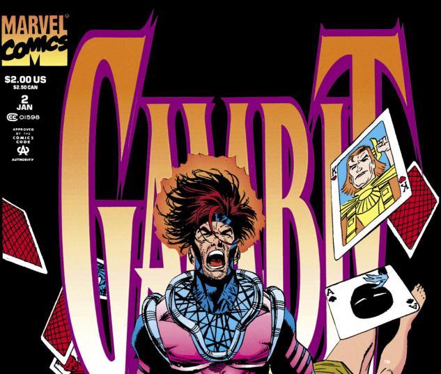 Gambit (1993) #2 Cover