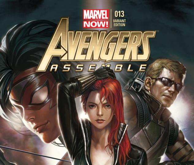 cover from Avengers Assemble (2012) #13 (LEE VARIANT)