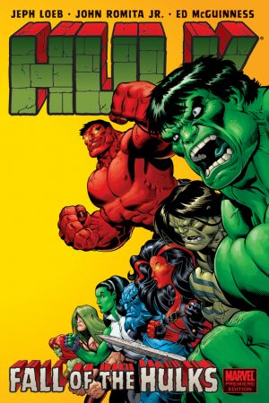 Hulk: Fall of the Hulks (Hardcover)
