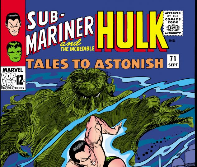 Tales to Astonish (1959) #71 Cover