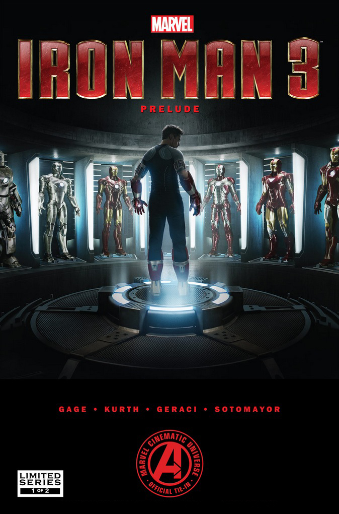 Marvel's Iron Man 3 Prelude (2012) #1