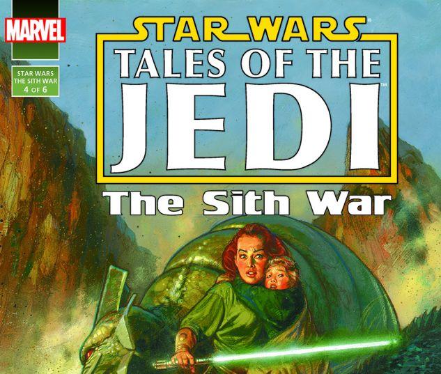 Star Wars: Tales Of The Jedi - The Sith War (1995) #4