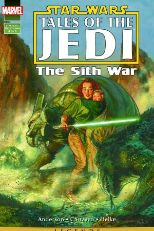 Star Wars: Tales Of The Jedi - The Sith War #4