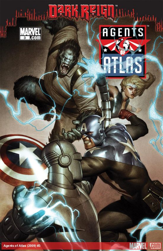 Agents of Atlas (2009) #3