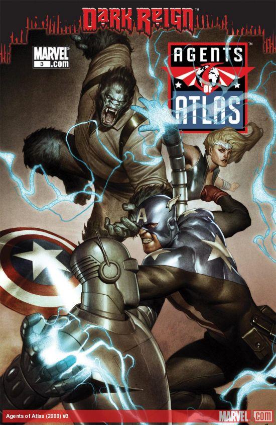 Agents of Atlas (2009) #3