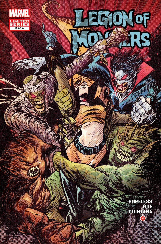 Legion of Monsters (2011) #3