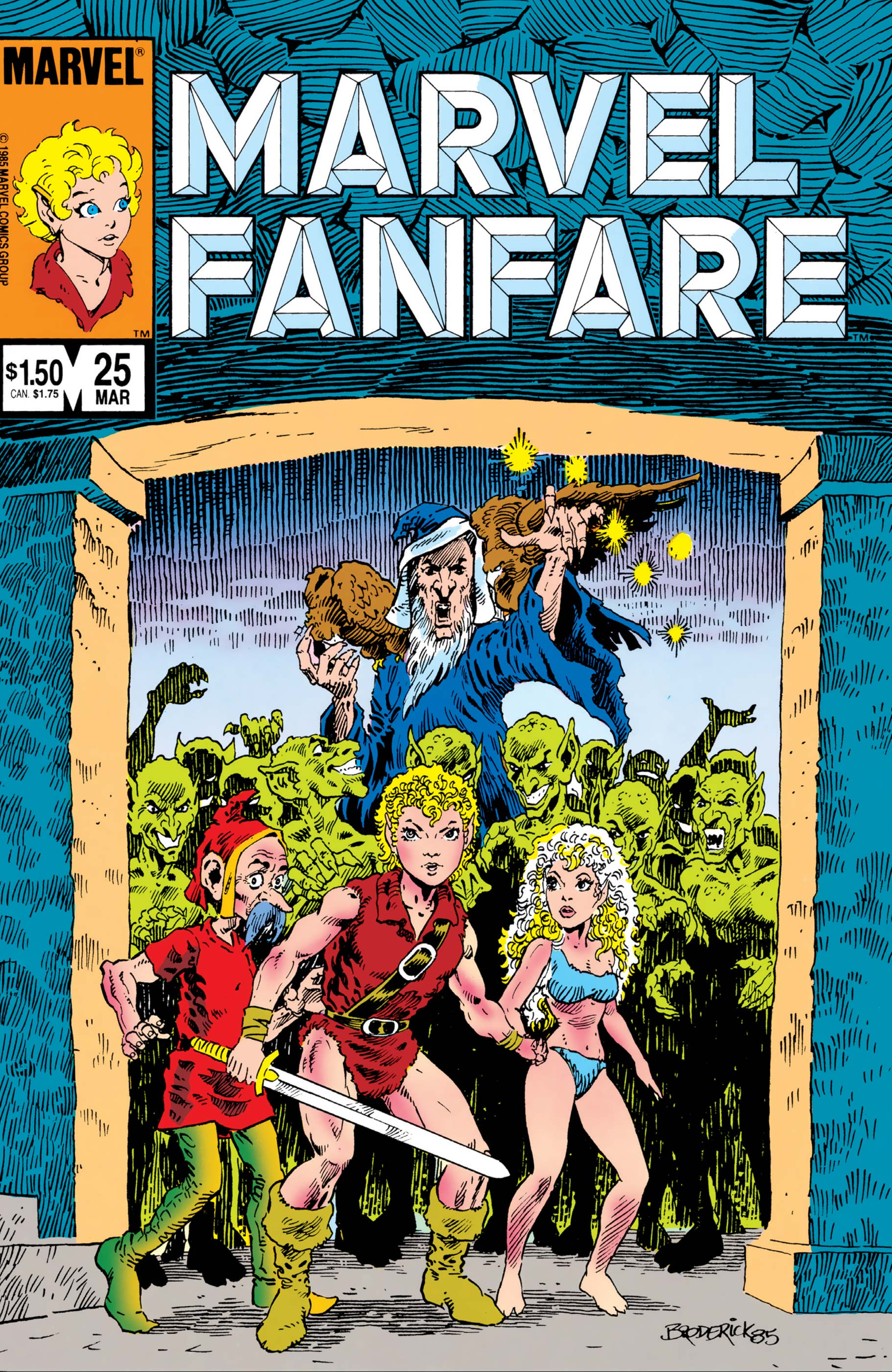 Marvel Fanfare (1982) #25