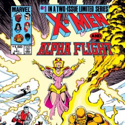 X-Men/Alpha Flight (1985)