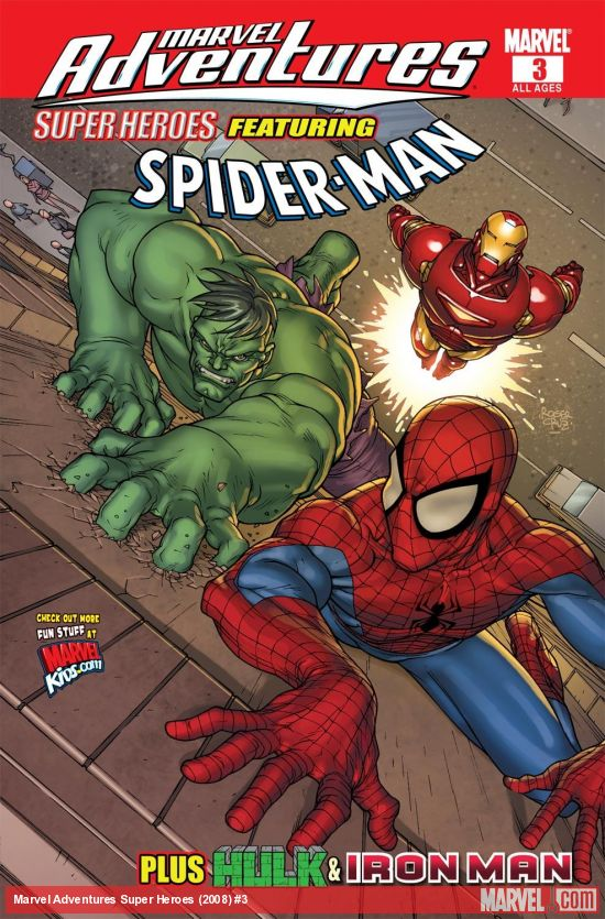 Marvel Adventures Super Heroes (2008) #3