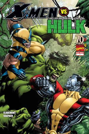 X-Men Vs. Hulk #1