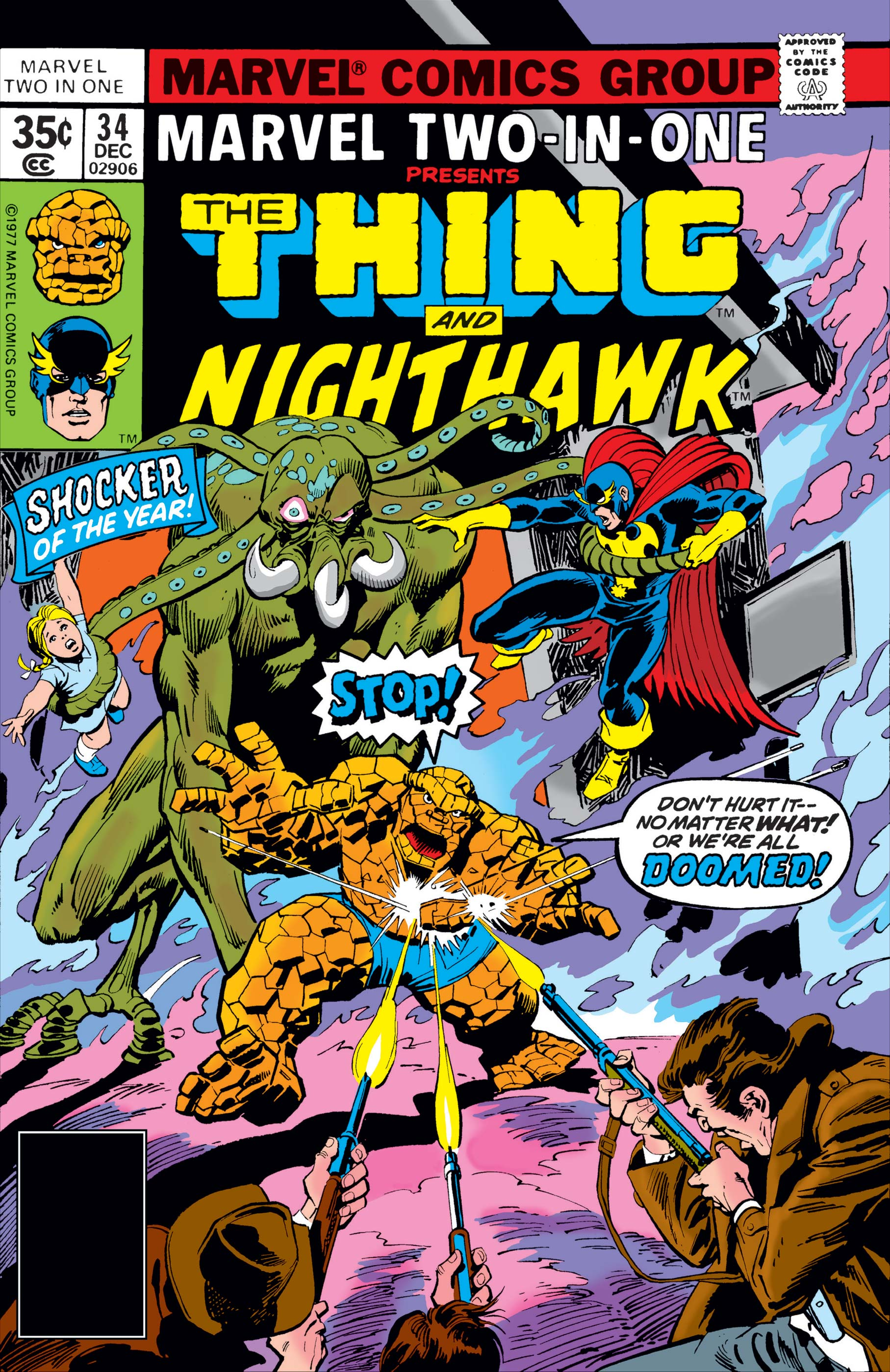 Marvel Two-in-One (1974) #34