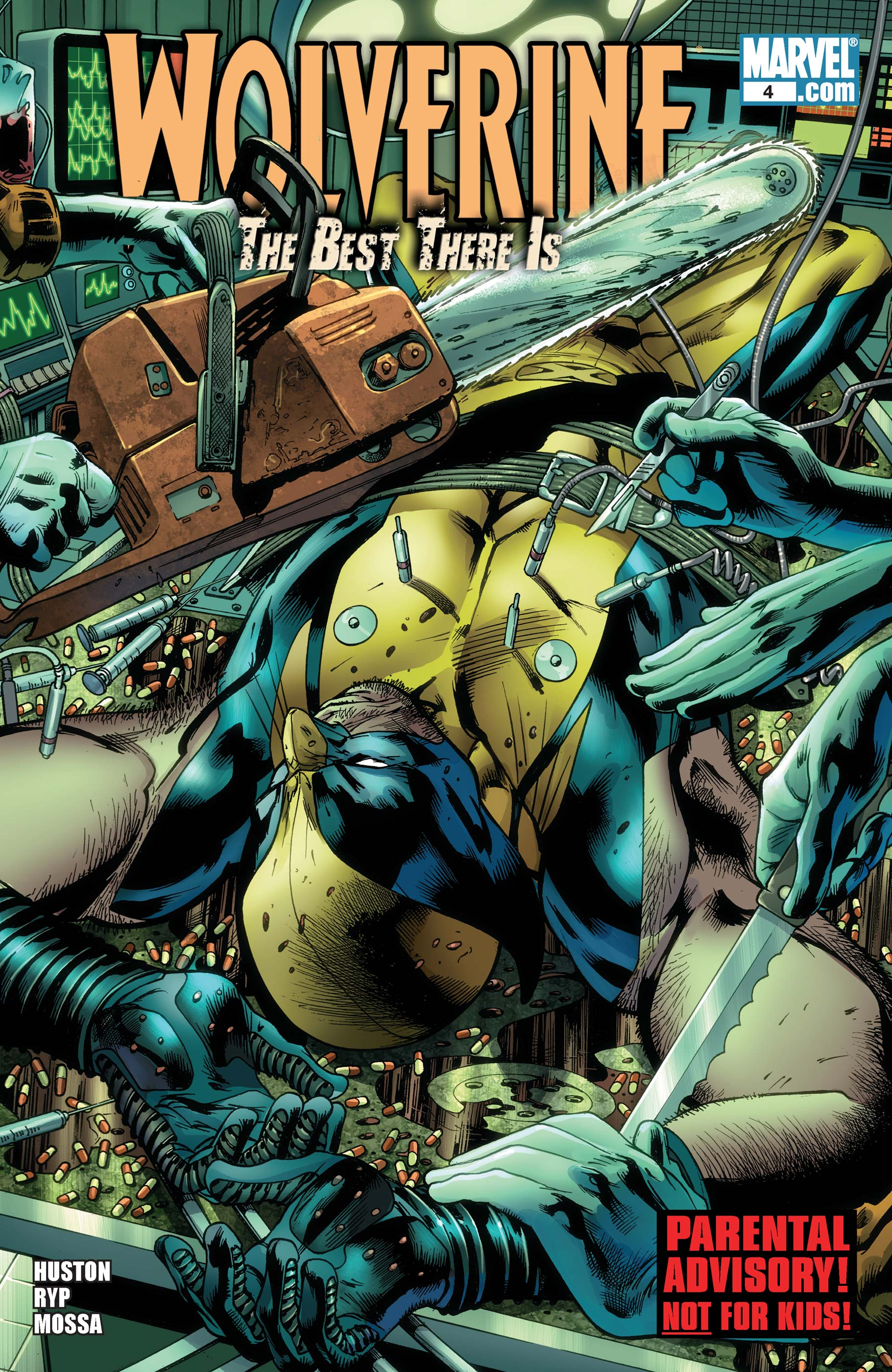 Wolverine: The Best There Is (2010) #4