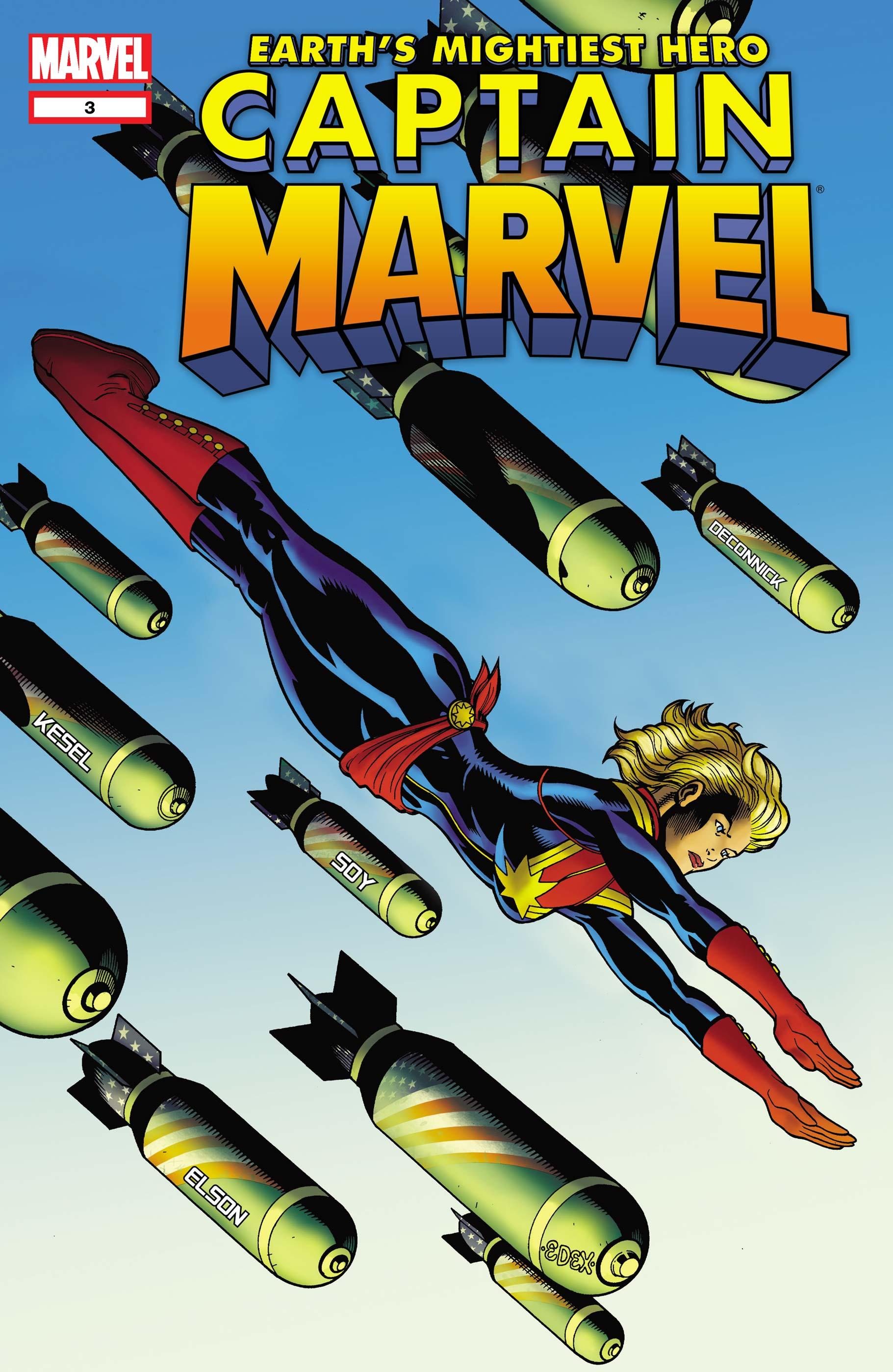 Captain Marvel (2012) #3