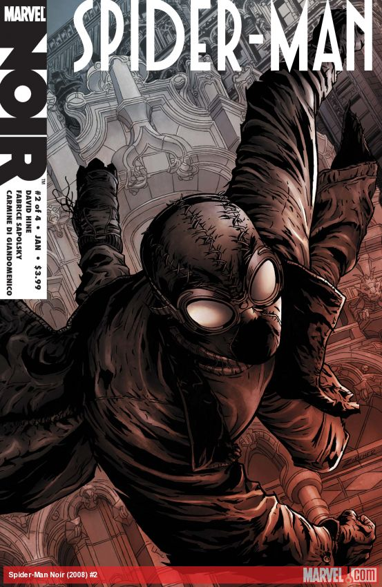 Spider-Man Noir (2008) #2