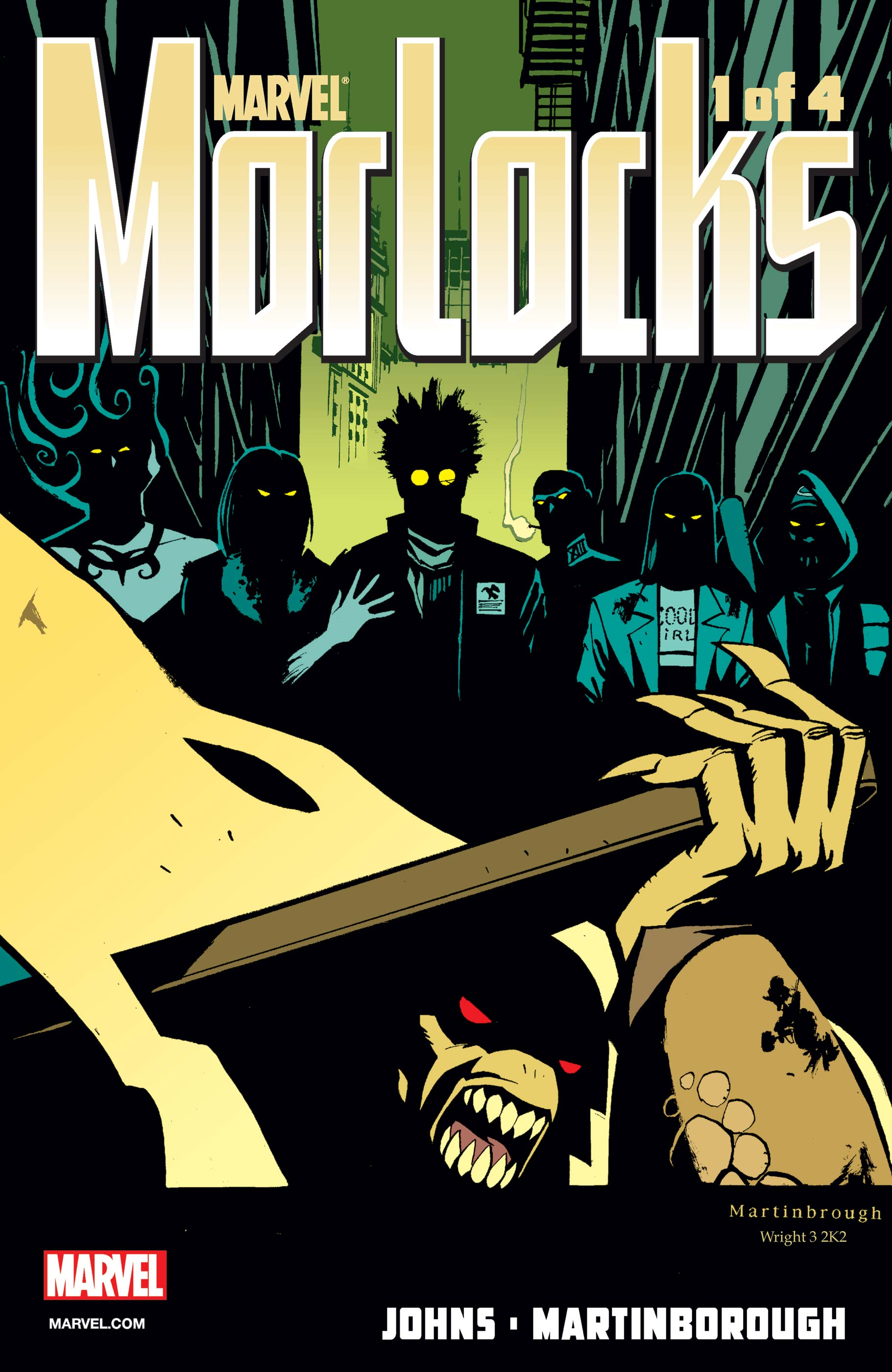 Morlocks (2002) #1