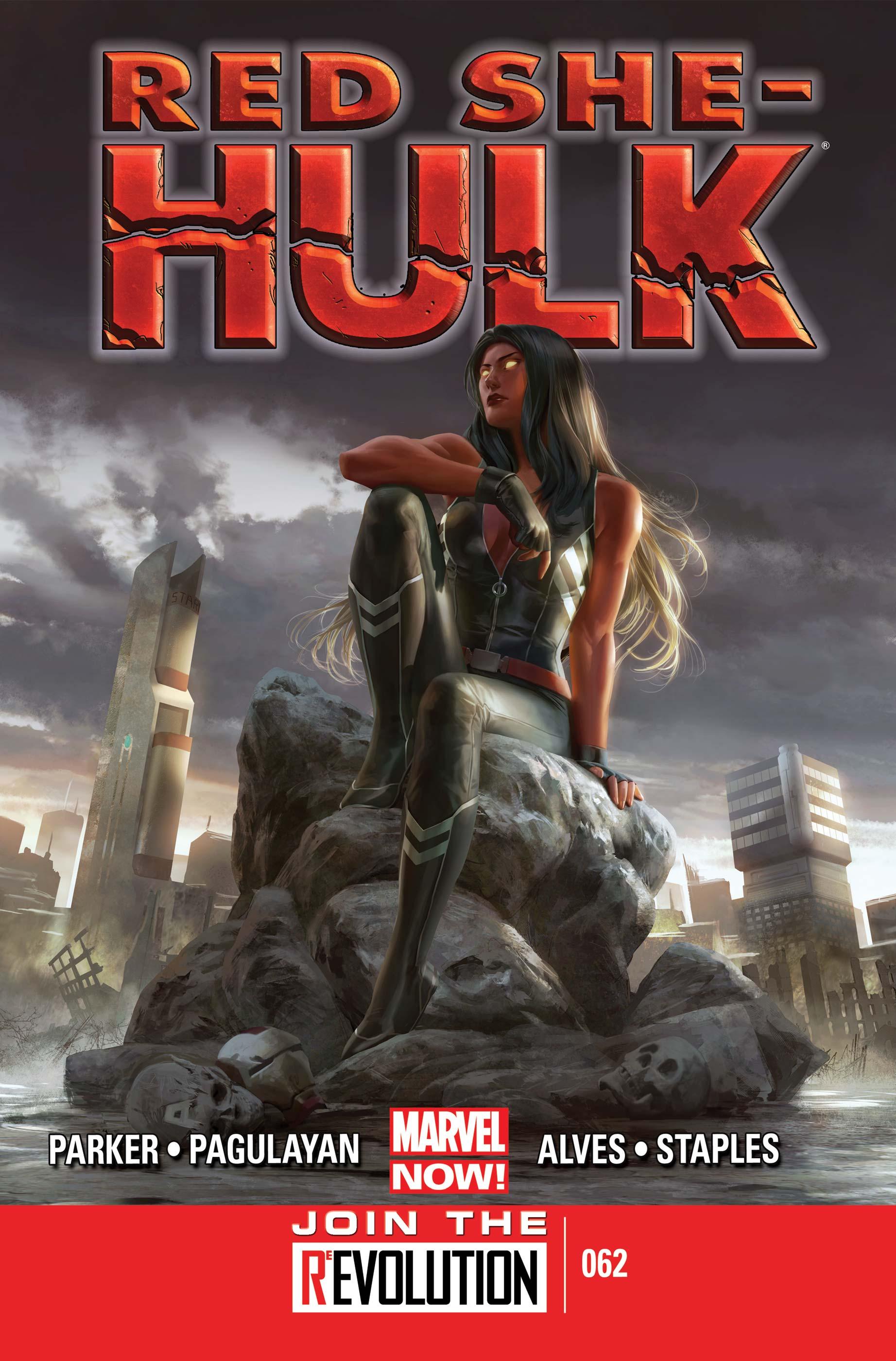 Red She-Hulk (2012) #62