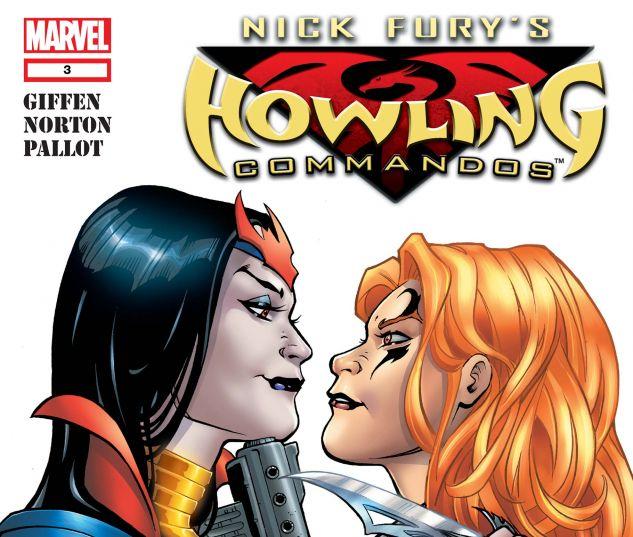NICK FURY'S HOWLING COMMANDOS (2005) #3