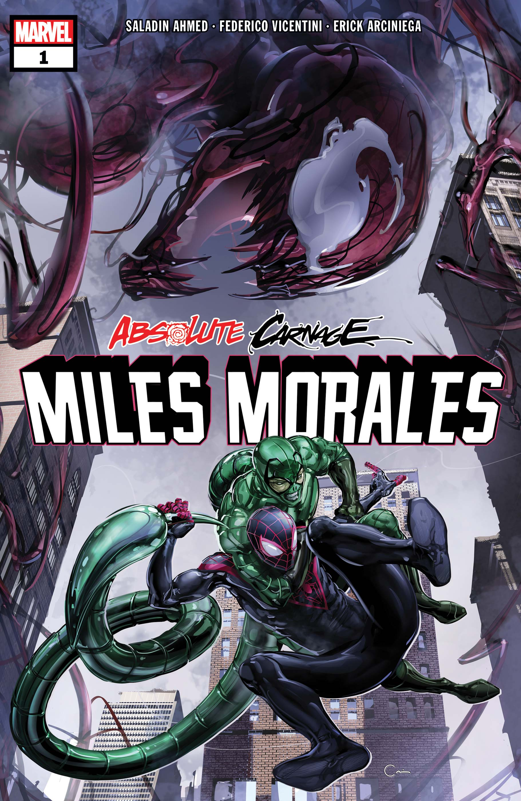 Absolute Carnage: Miles Morales (2019) #1
