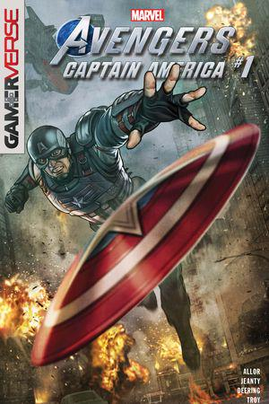 Marvel's Avengers: Captain America #1
