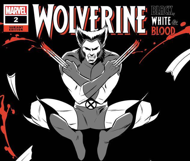 Wolverine: Black, White & Blood #2