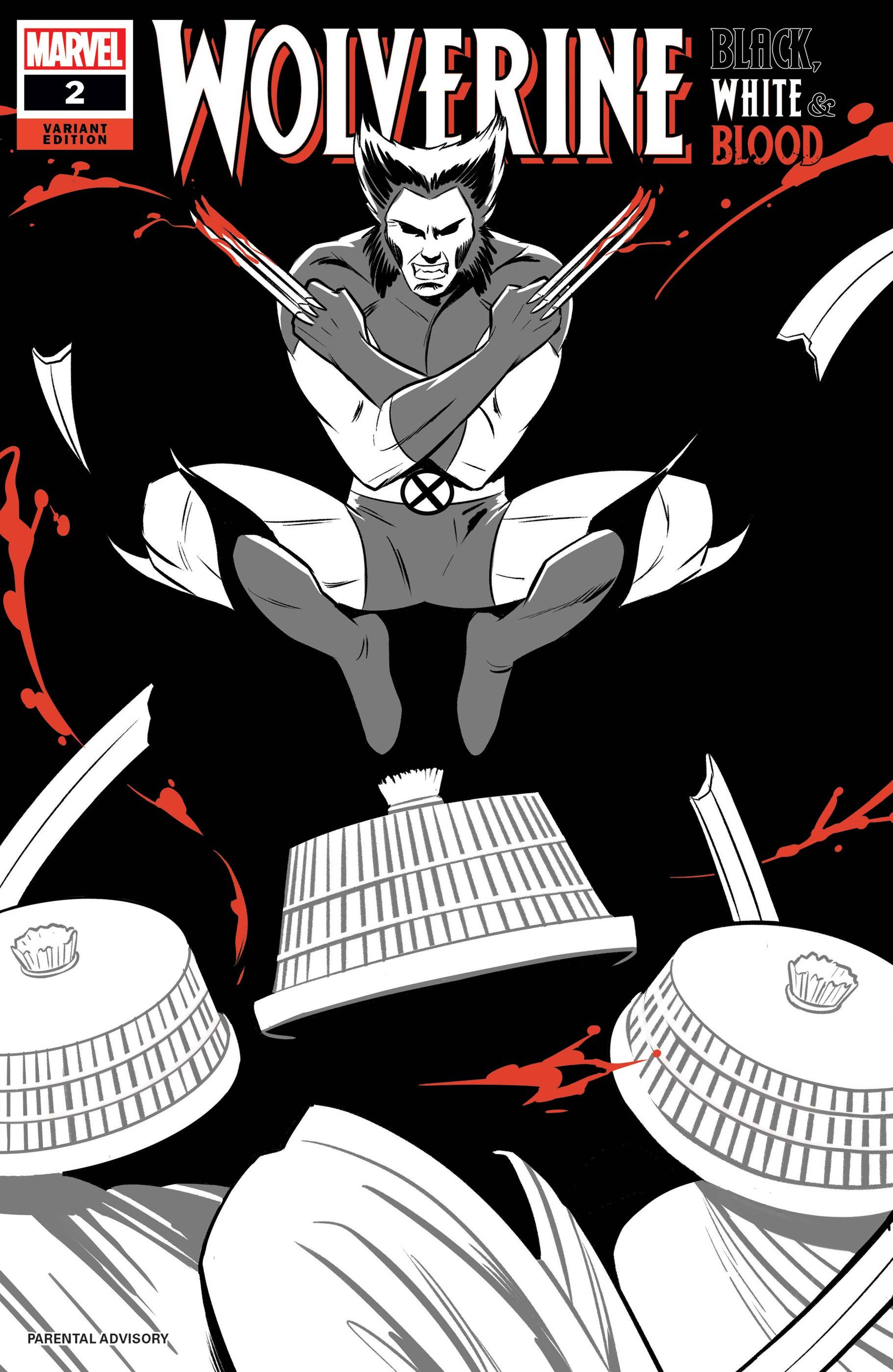 Wolverine: Black, White & Blood (2020) #2 (Variant)