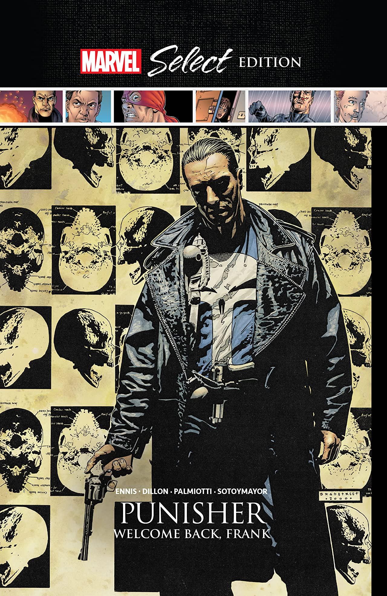 Punisher: Welcome Back, Frank Marvel Select (Hardcover)