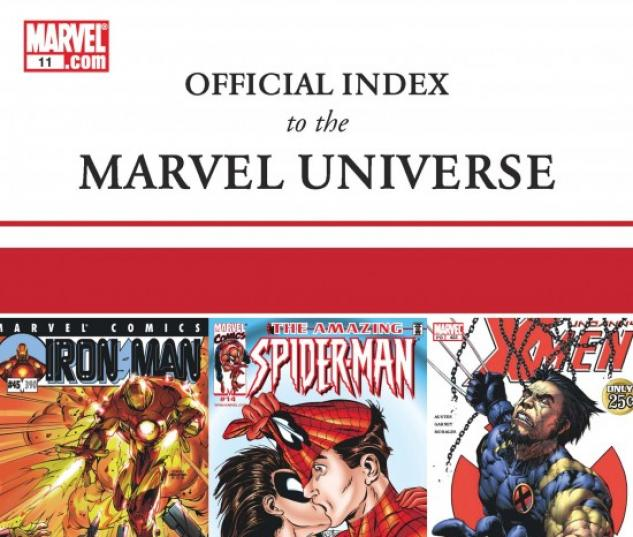 OFFICIAL INDEX TO THE MARVEL UNIVERSE #11