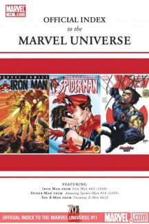 Official Index to the Marvel Universe (2009) #11