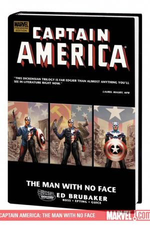 Captain America: The Man with No Face (Hardcover)