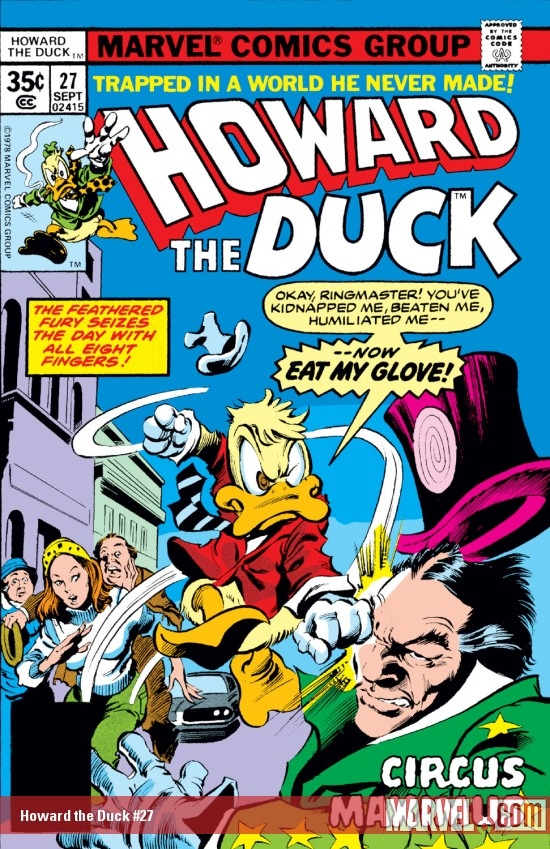 Howard the Duck (1976) #27