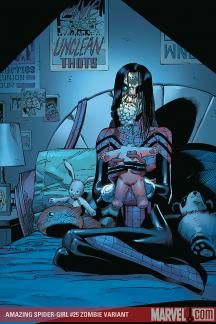 Amazing Spider-Girl (2006) #25 (ZOMBIE VARIANT (1 FOR 10))