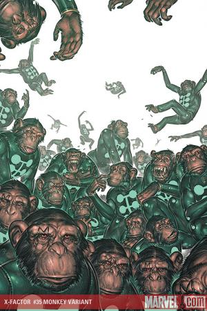 X-Factor (2005) #35 (MONKEY VARIANT (1 FOR 10))