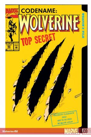 Wolverine (1988) #50