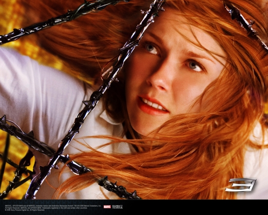 Spider-Man 3 Movie: Mary Jane with Webbing