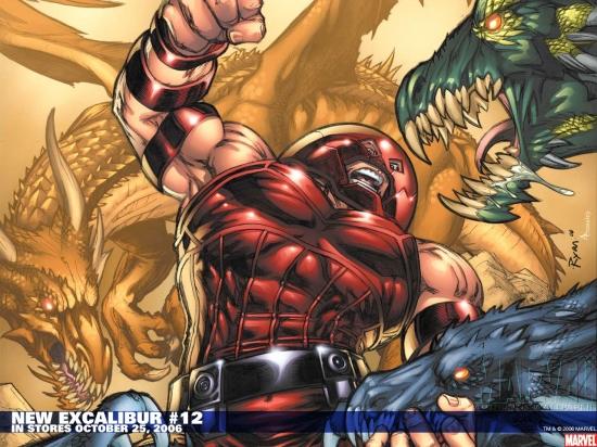 New Excalibur (2006) #12 Wallpaper