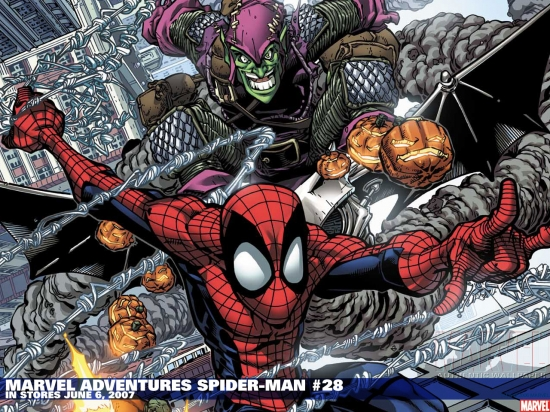 Marvel Adventures Spider-Man (2005) #28 Wallpaper