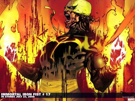 Immortal Iron Fist (2006) #17 Wallpaper