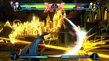 Ultimate Marvel vs. Capcom 3 Vergil Screenshot 1
