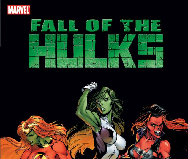HULK: FALL OF THE HULKS: THE SAVAGE SHE-HULKS (TRADE PAPERBACK) - cover art 2