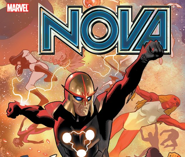 NOVA VOL. 5: WAR OF KINGS (TRADE PAPERBACK) - cover art