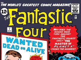 Fantastic Four (1961) #7 Cover