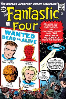 Image result for fantastic four 7 cover
