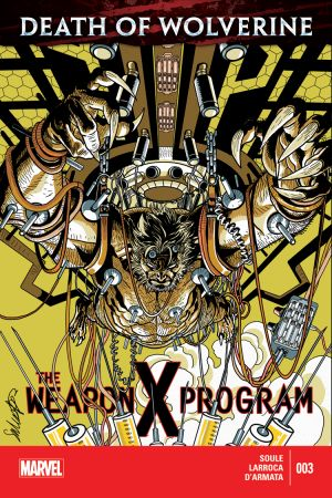 Death of Wolverine: The Weapon X Program (2014) #3
