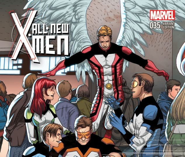 ALL-NEW X-MEN 35 LARROCA WELCOME HOME VARIANT (1 FOR 20, WITH DIGITAL CODE)