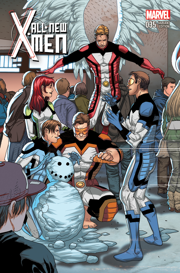 All-New X-Men (2012) #35 (Larroca Welcome Home Variant)