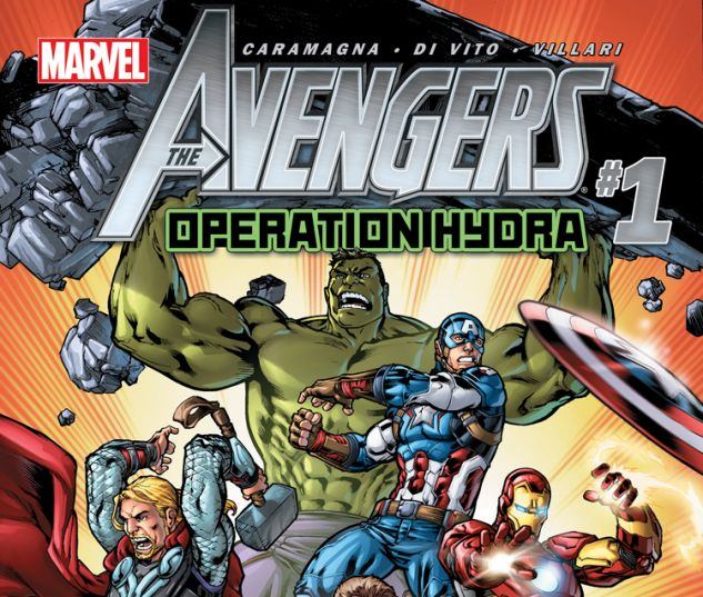 AVENGERS: OPERATION HYDRA 1 (WITH DIGITAL CODE, DNMC)